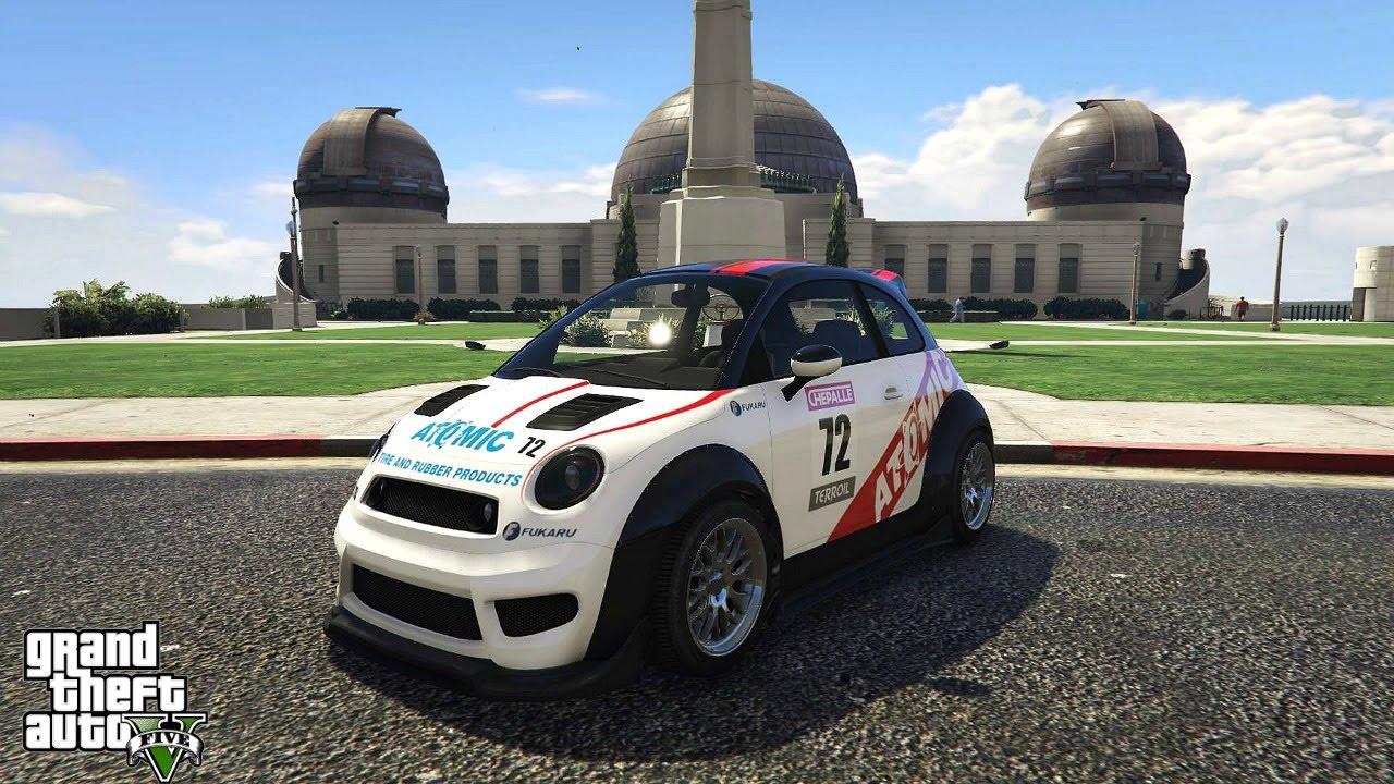 Gta V Online New Compact Racing Car Dlc Cunning Stunts