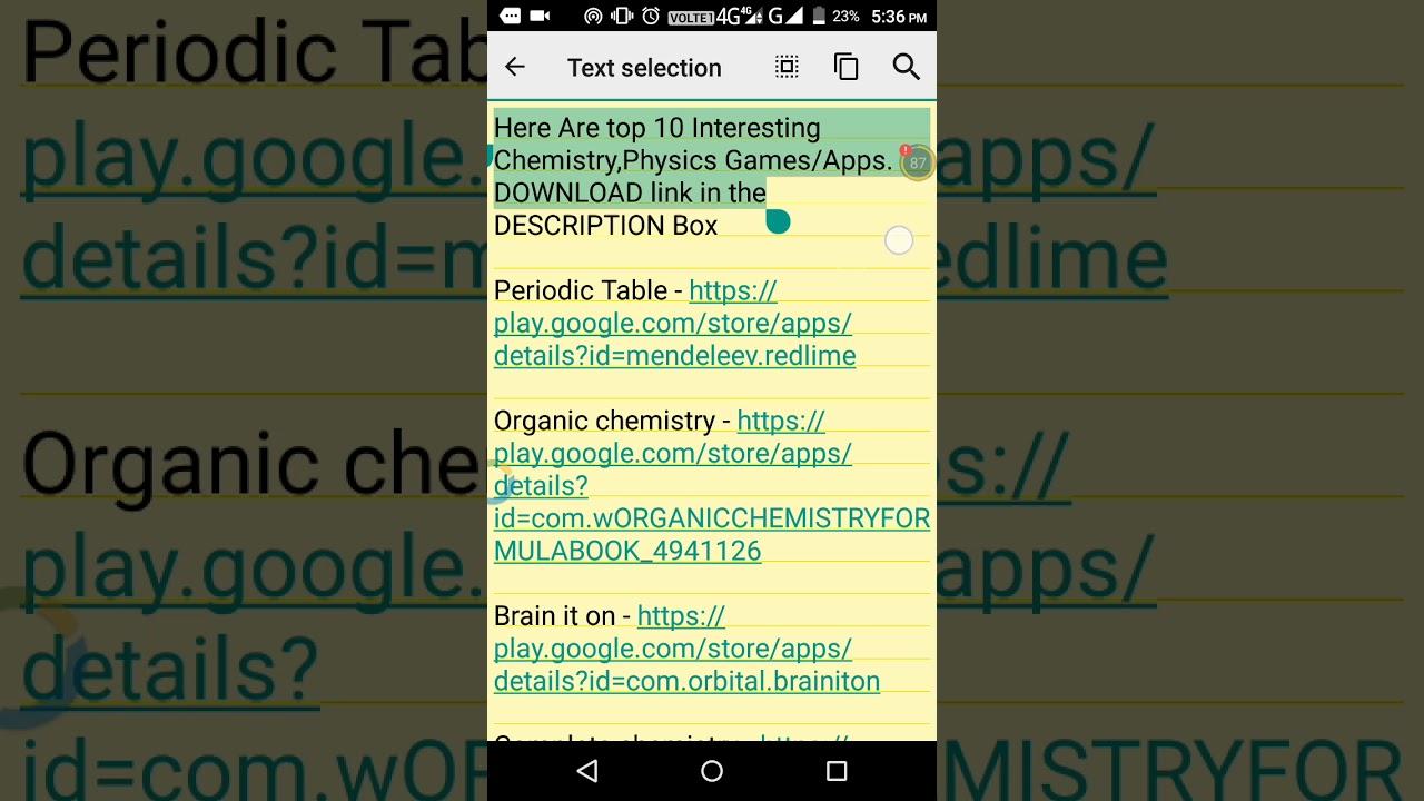 Here are top 10 chemistry appsgames youtube here are top 10 chemistry appsgames urtaz Image collections