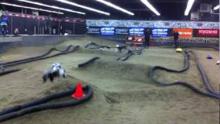 Santa Clarita Valley RC Indoor Track (Aerial Footage )
