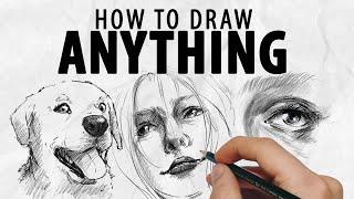 HOW TO DRAW ANYṪHING (No clickbait) | Drawlikeasir