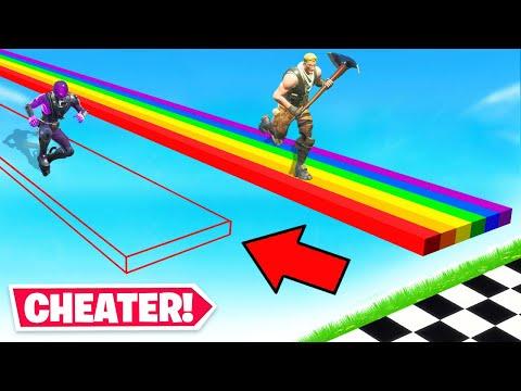 NOOB vs HACKER! *NEW* Game Mode in Fortnite