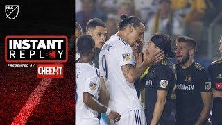 Did Zlatan deserve RED in El Trafico?