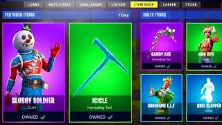 🔴 *NEW* SLUSHY SOLDIER SKIN! Fortnite Item Shop Update Countdown! (Fortnite Battle Royale LIVE)
