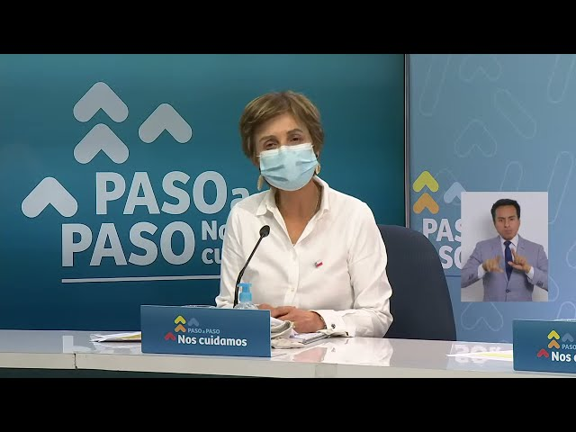 Coronavirus en Chile: Reporte 11 de octubre