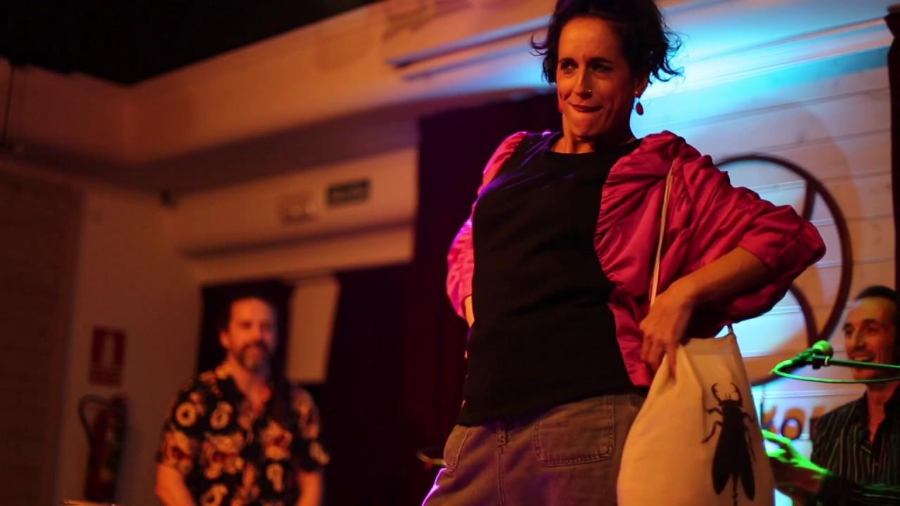 FIDEO Y CATA con Sarini Nieto al baile  y David Cobo a la Percusión. Flamenco literatura y humor