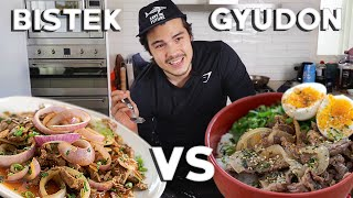 Japanese Beef Gyudon and Best Filipino Beef Steak Rice Bowl Recipes