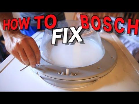 How To Repair A Bosch Washing Machine Door Handle Youtube