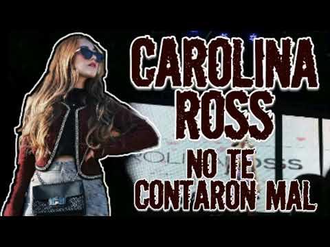 No te contaron mal - Carolina Ross Cover(Video Lyrics)