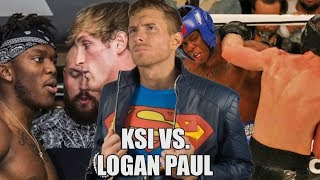 MY RESPONSE TO KSI VS. LOGAN PAUL FIGHT REACTION | SK Reacts - #DailyTrend