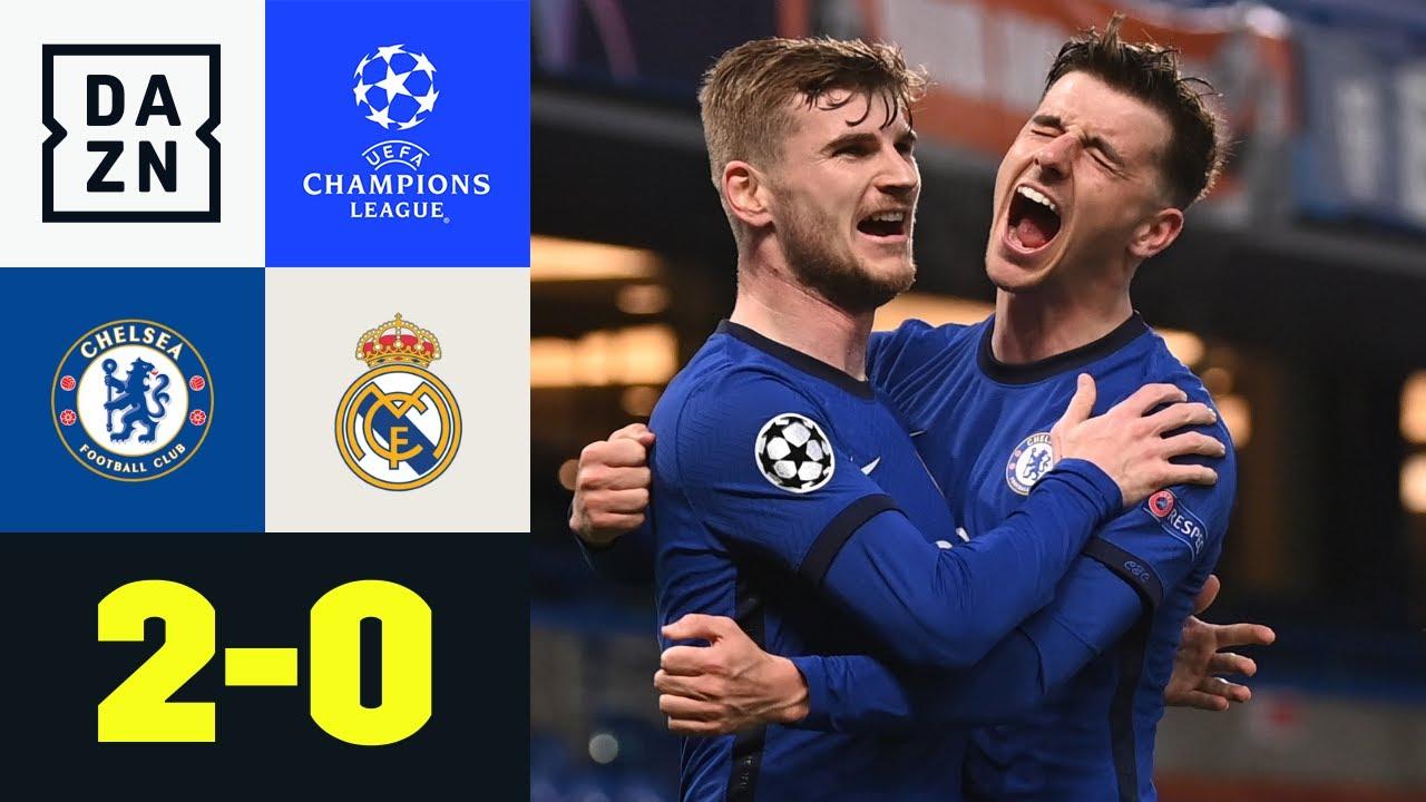 Chelsea im Finale! Werner leitet Sieg ein: Chelsea - Real Madrid 2:0 | UEFA Champions League | DAZN