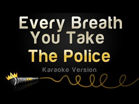 The Police  Every Breath You Take Karaoke Version