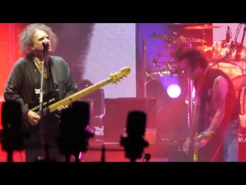 The Cure  Pictures Of You Live @ Forum Assago Milano  1-11-2016