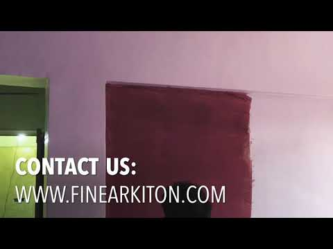 Asian Paint Dapple Effect by Fine Arkiton
