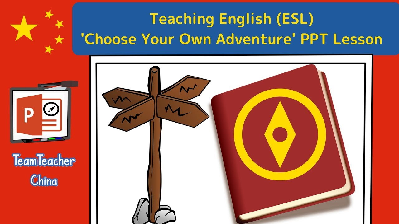 Choose Your Own Adventure Powerpoint Story Lesson - Teaching English (ESL)  Reading