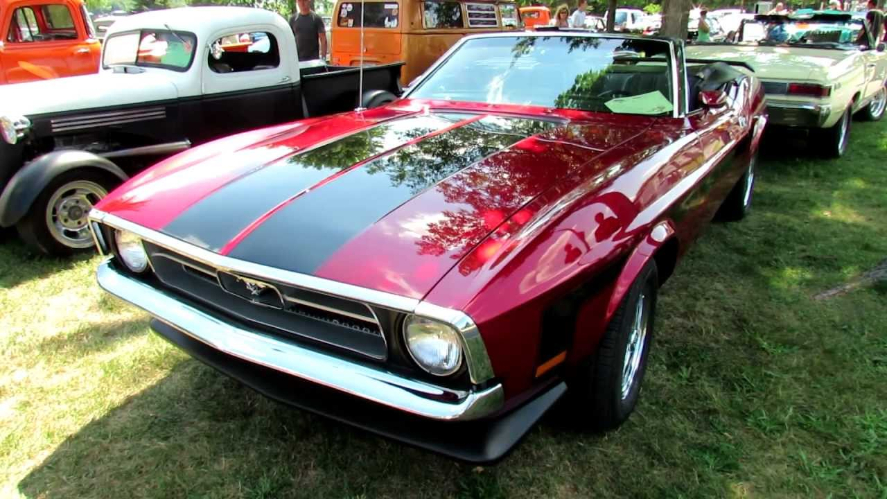 1972 ford mustang convertible exterior and interior 2012 granby international quebec canada