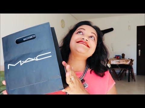 MAC Cosmetics HAUL    2018    Indian Youtuber
