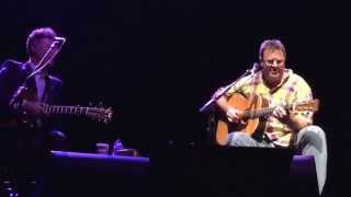 "Vince Gill incredible acoustic version ""Whenever You Come Around"" with Lyle Lovett"