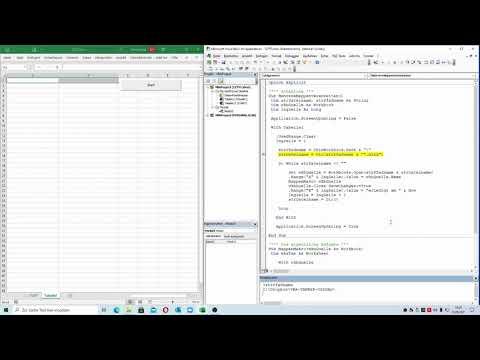 265: Excel-VBA: Der Vollautomat - alle Dateien eines Verzeichnisses schnell verarbeiten
