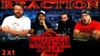 Stranger Things 2x1 REACTION!!