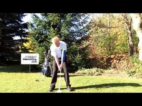 Straight Arm Instructional Series #11. Gary Brooks, PGA Professional, Straight Arm inventor.