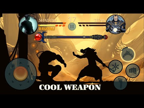 Shadow Fight 2 || Staff of Night vs ALL BOSSES 「iOS/Android Gameplay」