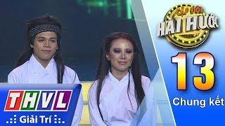 THVL | Cặp đôi hài hước Mùa 2 – Tập 13[2]: Cải lương xuyên không - Hoàng Hải, Miko Lan Trinh