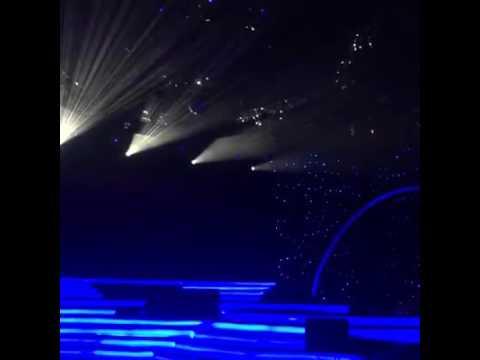 Zamani Slam Dan Saleem 2 lejen yg mempersonakn konsert akhir KILAUAN EMAS OTAI 2016