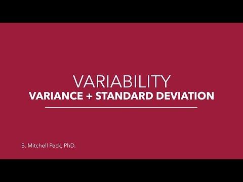 Social Statistics - Variability: Variance + Standard Deviation