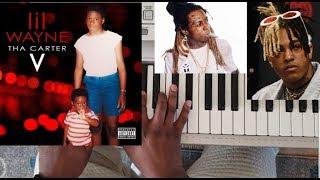 LIL WAYNE feat. XXXTENTACION - DONT CRY (CARTER V) PIANO TUTORIAL Ab Minor