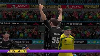 Australia vs New Zealand - 5 Overs Match 1 Part 2 - EA CRICKET 18 PC Game