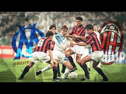 OM 1-0 MILAN AC (1993) : La fin du match