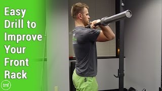 Easy Drill to Improve Your Front Rack | Week 48 | Movement Fix Monday | Dr. Ryan DeBell