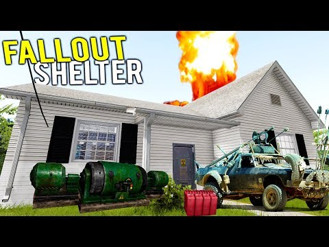 FALLOUT SHELTER GETS RENOVATED AND FLIPPED AT AUCTION! - House Flipper Gameplay
