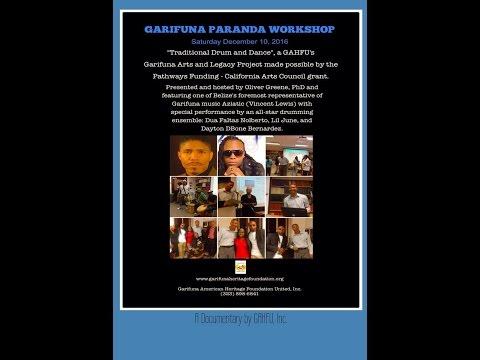Garifuna Paranda Music Workshop 2016