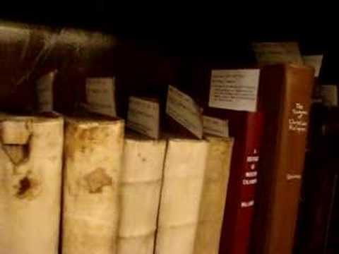 The Rare Book Room at RPTS