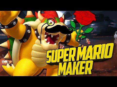BOWSER kann FLIEGEN?! - Super Mario Maker #02 [Deutsch/HD]