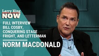Norm Macdonald on Bill Cosby, Conquering Stage Fright, and Saying the L-Word to Letterman