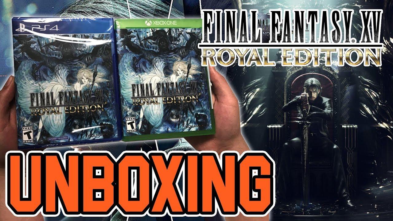 final fantasy xv royal edition ps4 contents