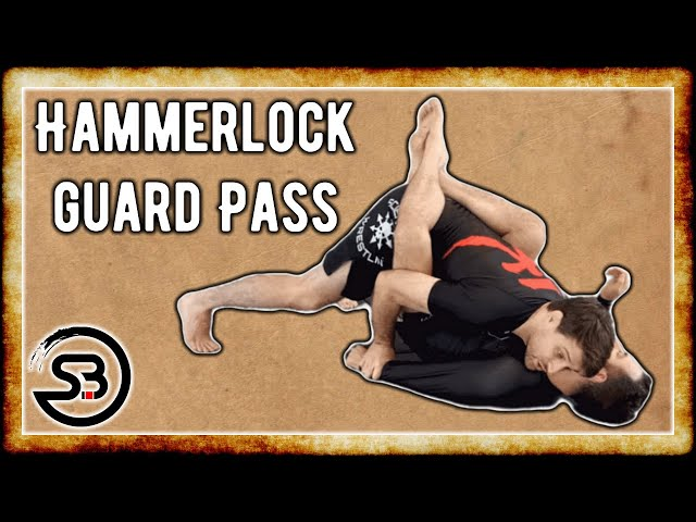 Nano-Seminar: Hammerlock Guard Pass (No-Gi Arm behind the Back Trap)