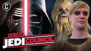Will Kylo Ren Be As Evil As Vader in Episode IX + Chewbacca Actor Interview - Jedi Council