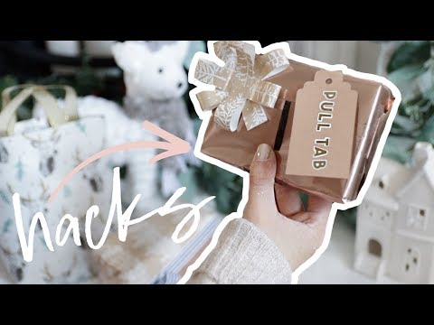 Gift Wrapping Hacks You NEED To Try This Christmas | DIY Present Wrapping ad