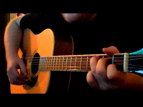 Ben Harper - Another lonely day guitar cover (very short version)