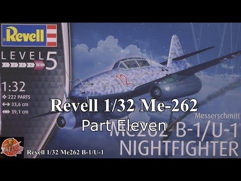 Revell Me 262 Part 11