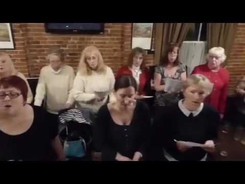 Beccles Instant Choir Sings Drift Away (A-La-Tosh)