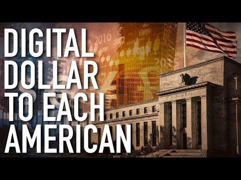 Unprecedented Monetary Overhaul: Fed Preparing To Deposit Digital Dollars Directly To Each American