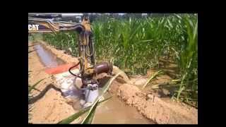 irrigazione mais con turbina idraulica