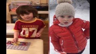 Январское видео 2019 Максима Галкина о Гарри и видео Лиза сердится и Лиза радуется