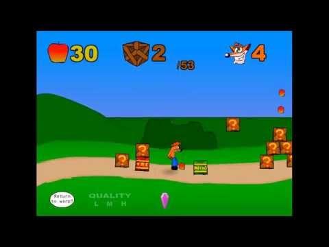 Crash Bandicoot Online Part 1