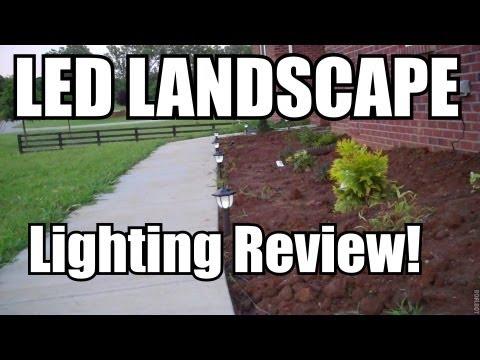 Brinkmann led landscape path and spotlights review youtube brinkmann led landscape path and spotlights review mozeypictures Images