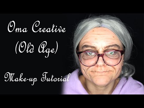 Oma Grete Creative (Old Age) - Make-up Tutorial